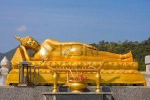 Gautam Buddha Sleeping Images in Hua Hin, Thailand