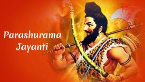 Happy Lord Parashurama Jayanti Images And Wallpapers