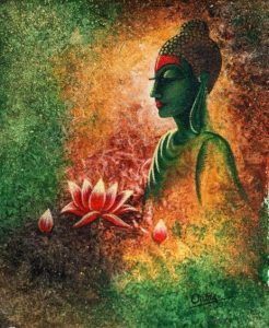 Lord Buddha Painting Images