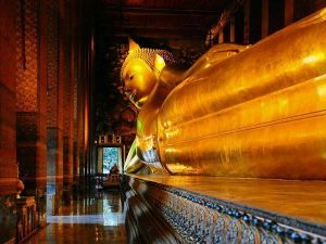 Reclining Buddha Bangkok Images